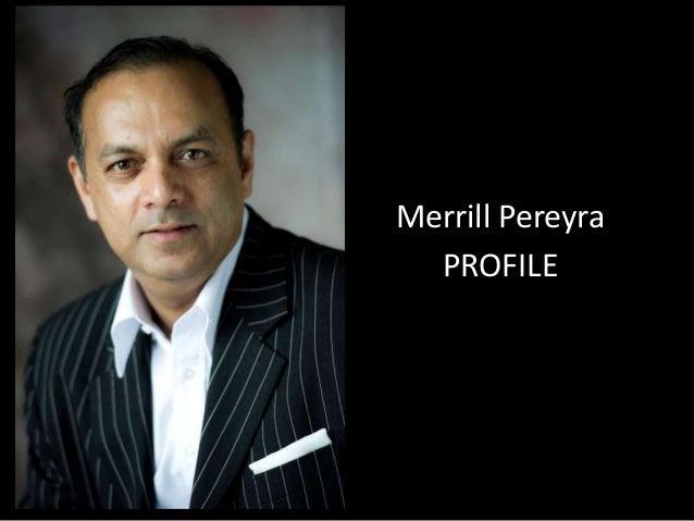 Merrill Pereyra PROFILE