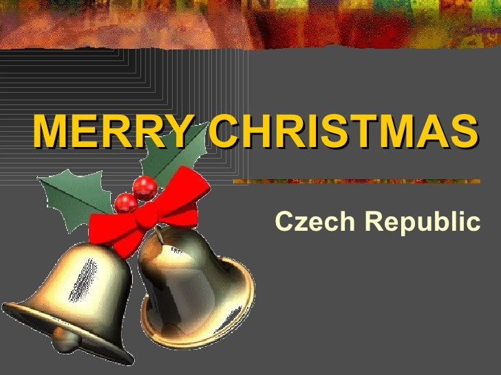 MERRY CHRISTMAS Czech   Republic