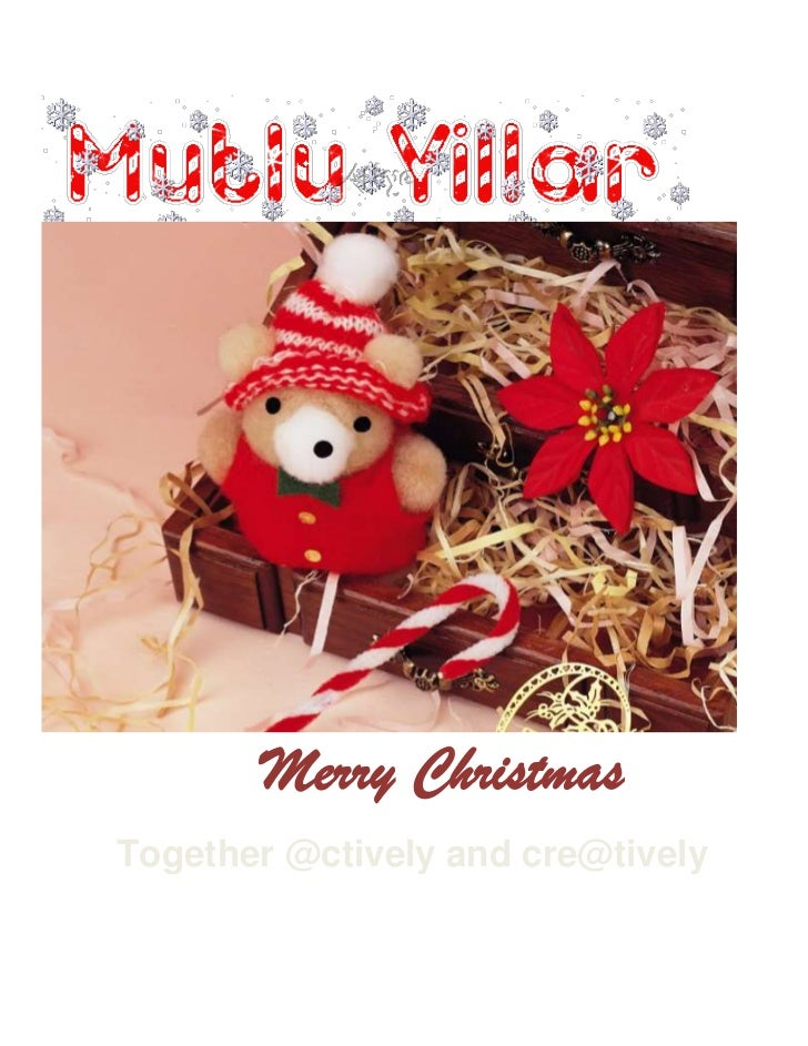 Merry ChristmasTogether @ctively and cre@tively