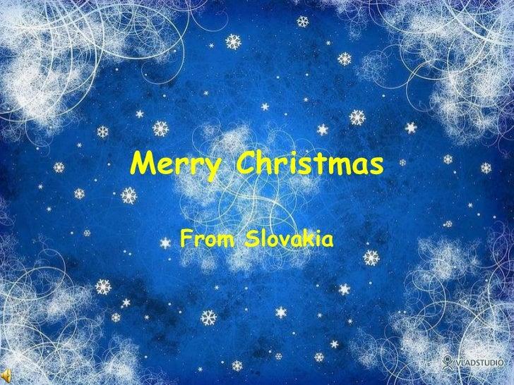 Merry Christmas From Slovakia