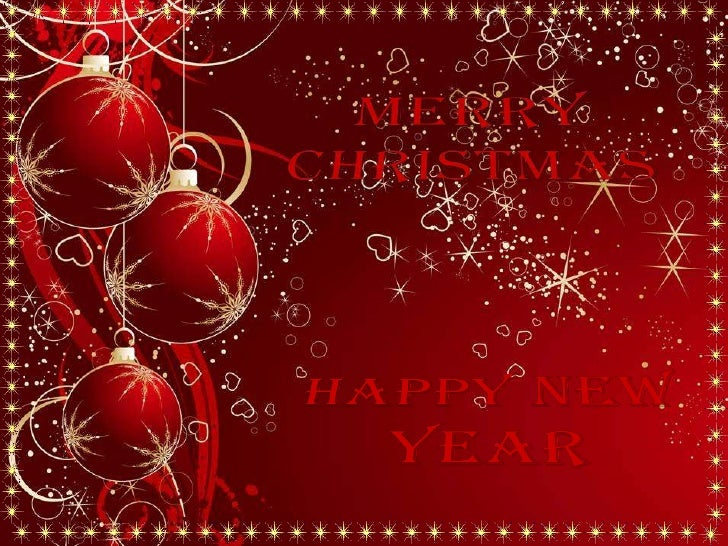Merry Christmas And Best Wishes For A Happy New Year!