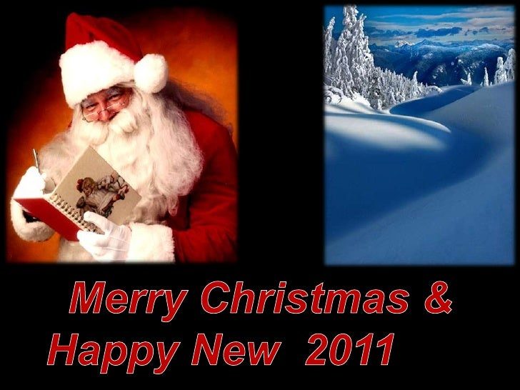 Merry Christmas & Happy New  2011Year<br />