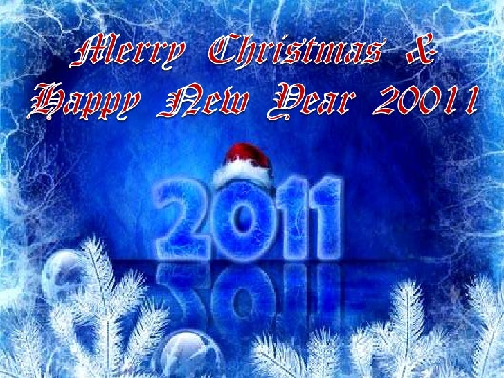 Merry Christmas & Happy New Year 20011<br />