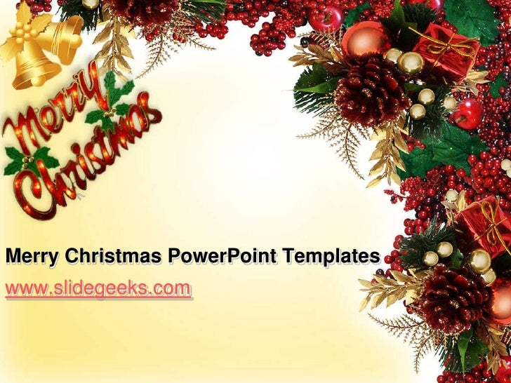 Merry christmas power point templates BG5hqDGJ