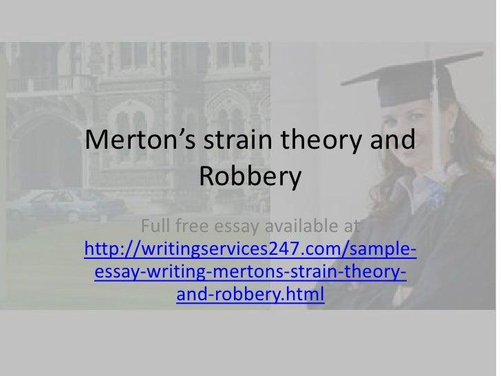 Robbery Story Essay