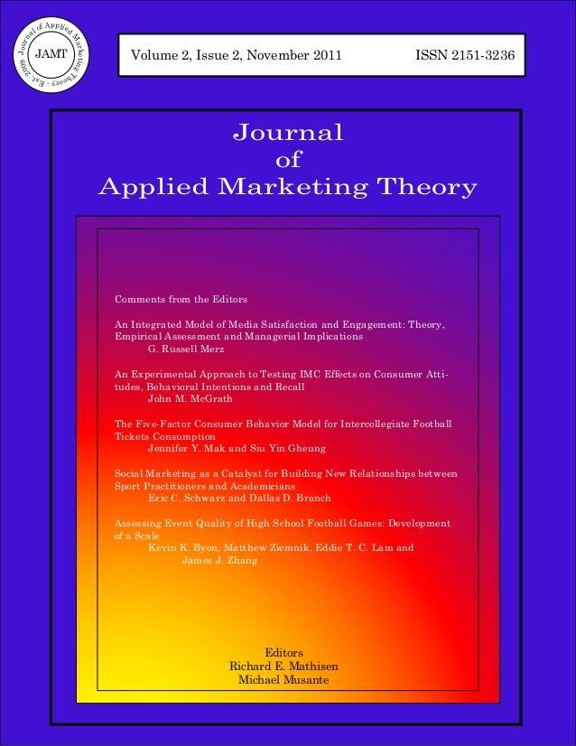 of Applied           al                          M09 Journ                             arketing T            JAMT         ...