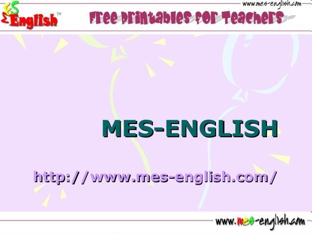 MES-ENGLISHMES-ENGLISH http://http://www.meswww.mes--english.comenglish.com//