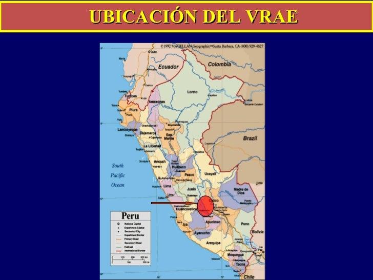 UBICACIÓN DEL VRAE