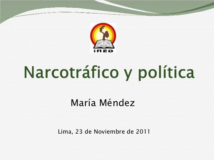 María Méndez  Lima, 23 de Noviembre de 2011