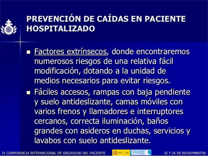 Baño En Ducha Para Pacientes:de seguridad del paciente 25 y 26 de noviembre 08