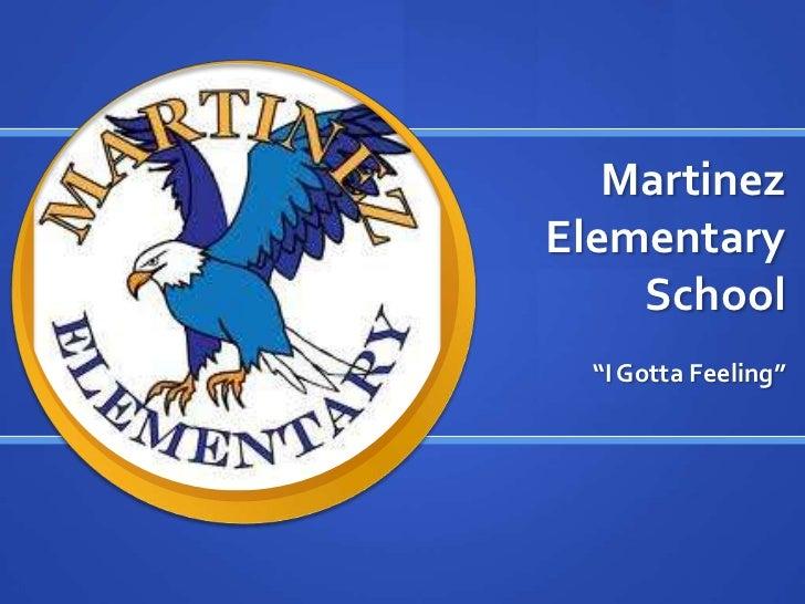 "Martinez Elementary School<br />""I Gotta Feeling""<br />"