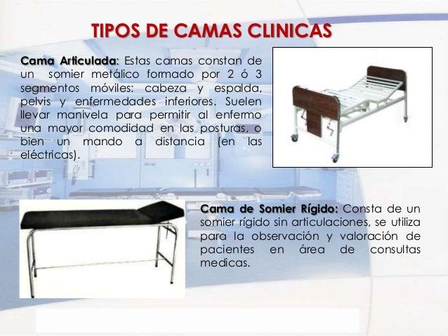 Mesas y camas clinicas for Tipos de cama