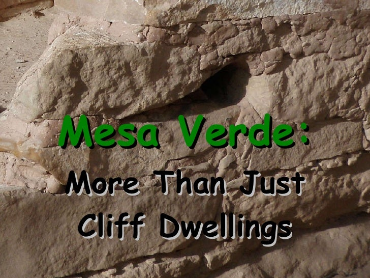 Mesa Verde: More Than Just Cliff Dwellings