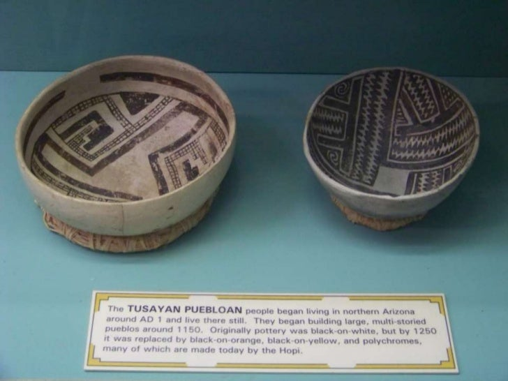 Ceramics from the collection at Mesa Verde