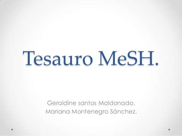 MeSH.