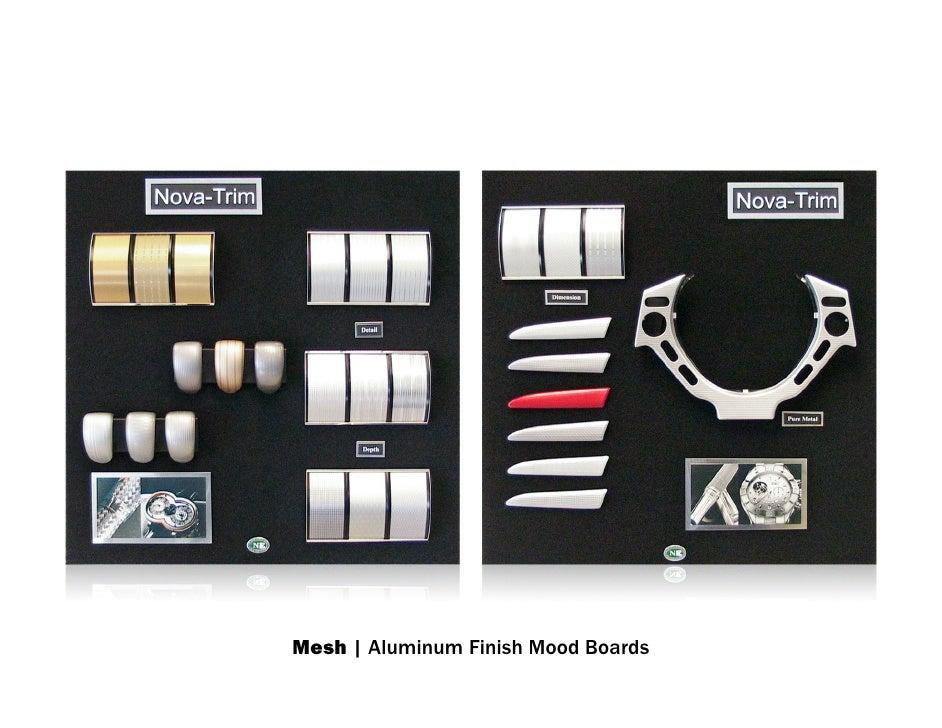 Mesh   Aluminum Finish Mood Boards