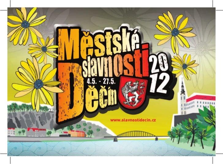 Městské slavnosti Děčín 2012