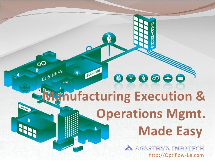 Manufacturing Execution & Operations Mgmt. Made Easy  http ://Optiflow-Le.com