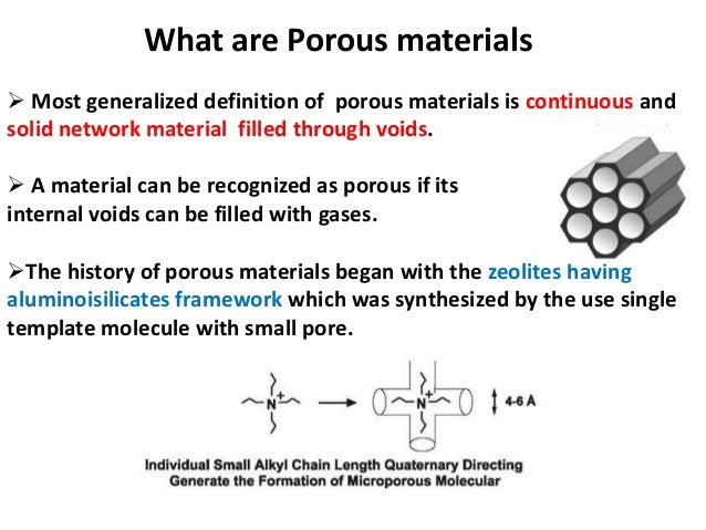 multifunctional porous organics synthesis This requires combining advances in the synthesis and manipulation  soak up various organics and oil at the  materials requiring a porous structure for.