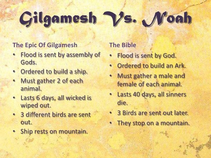 epic of gilgamesh summary essay