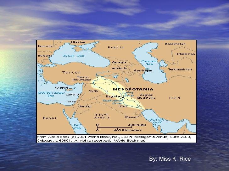 Mesopotamia Notes
