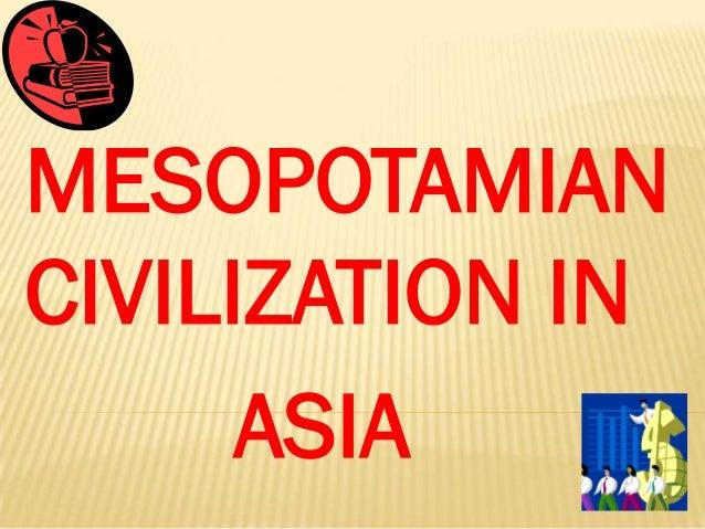 Mesopotamia lesson