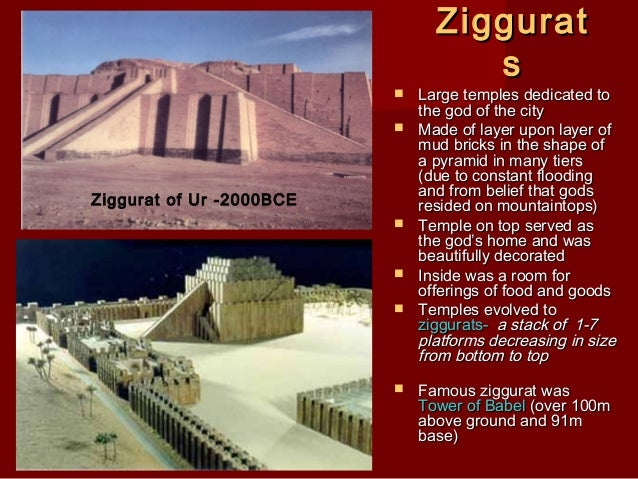 ziggurat essay Read this essay on ziggurats and pyramids come browse our large digital warehouse of free sample essays get the knowledge you need in order to pass your classes and.
