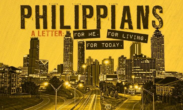 Philippians (Week 1)