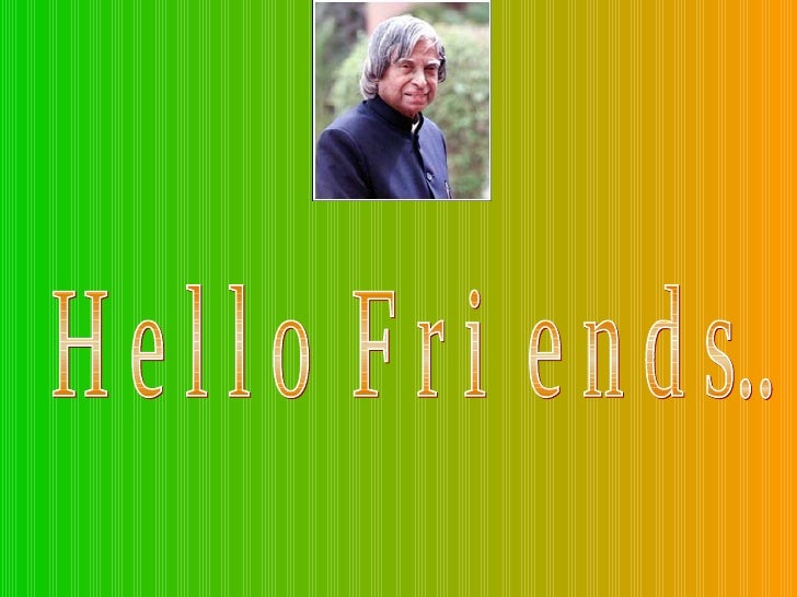 Message From Dr Apj Kalam Spend 10mts