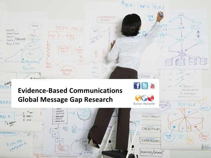 Message Gap Presentation