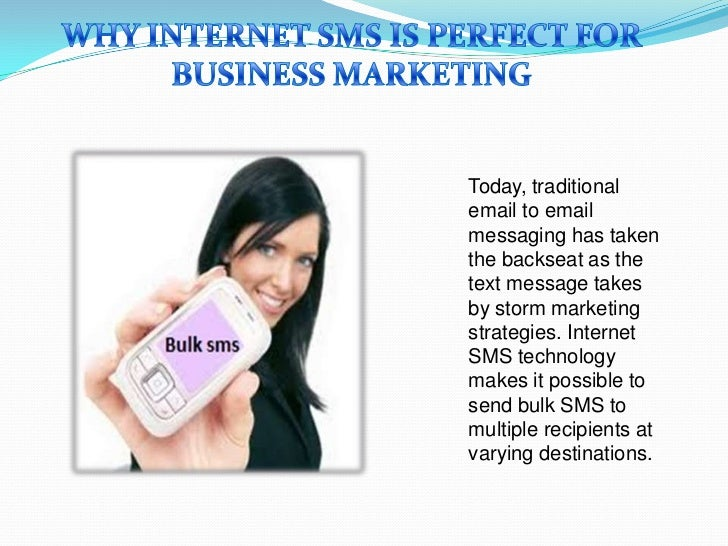 Today, traditionalemail to emailmessaging has takenthe backseat as thetext message takesby storm marketingstrategies. Inte...
