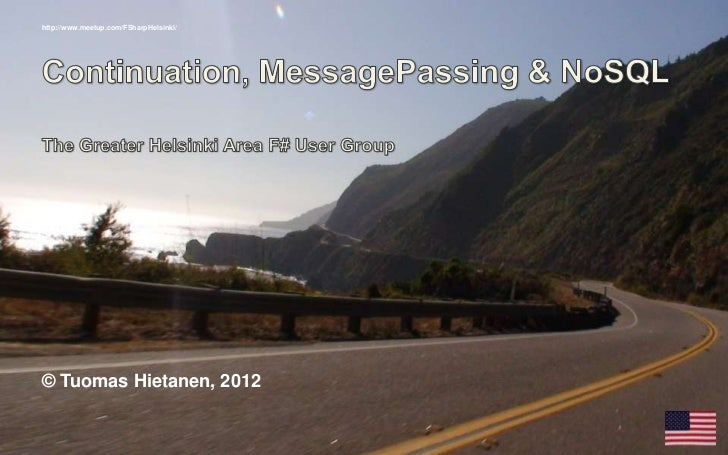 Message passing & NoSQL (in English)