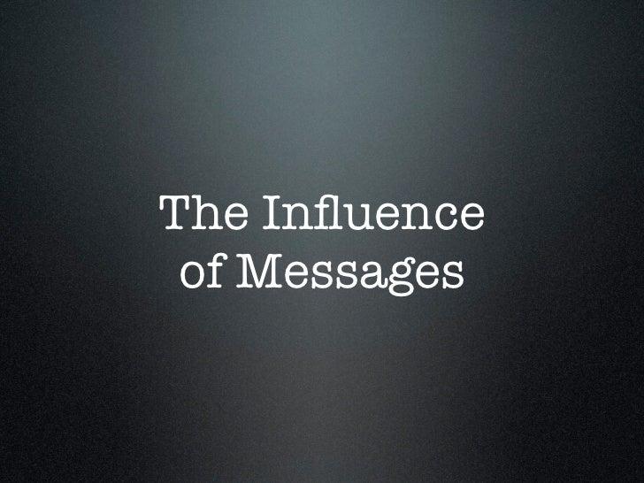 David Henderson: Messages, Brand Journalism workshop 14-15th April 2011