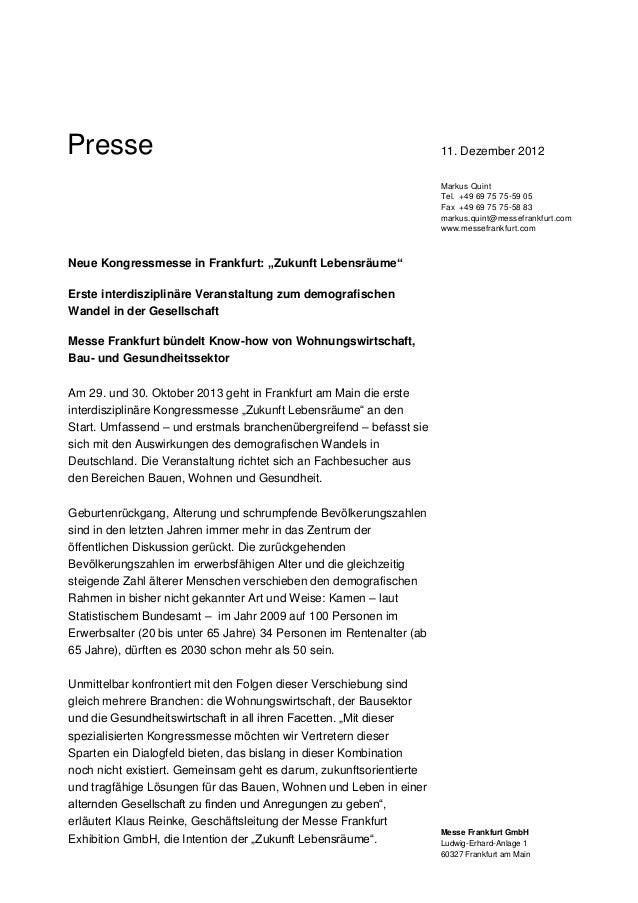Presse                                                                11. Dezember 2012                                   ...