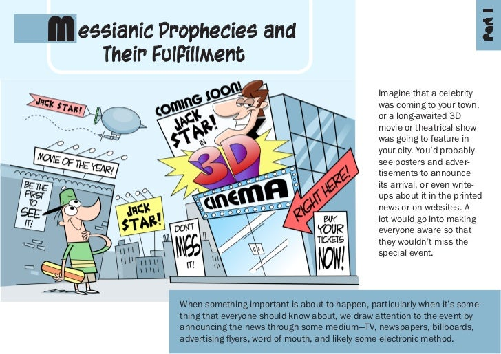 Part 1M essianic Prophecies and     Their Fulfillment                                                              Imagine...