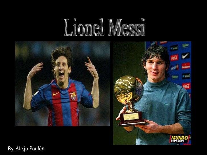 Messi by Alejo