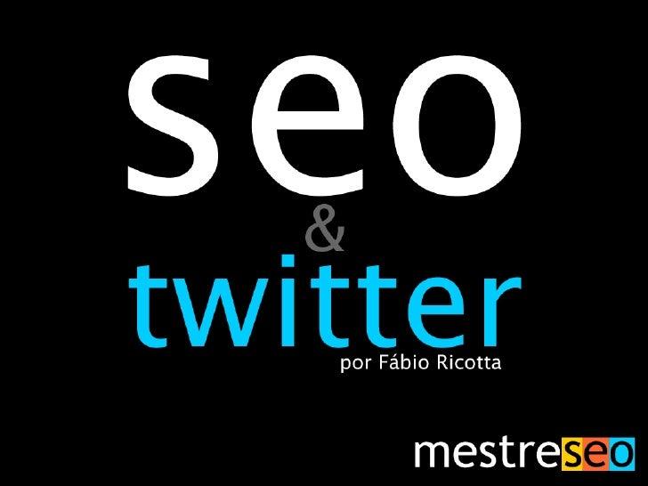 Twitter SEO