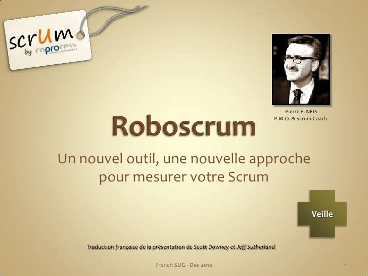 Mesurer scrum avec Roboscrum