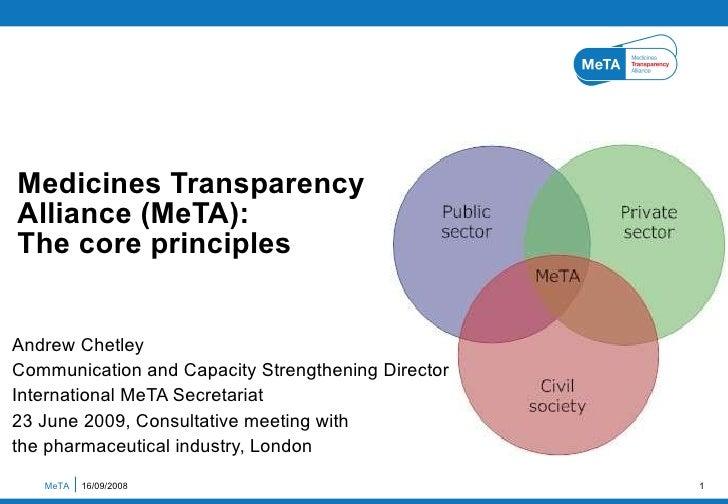MeTA Core Principles