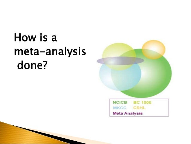 meta analysis dissertation The latest tweets from meta-analysis guru (@tweetmaguru) meta-analysis expert | systematic review expert | freelancer | entrepreneur | academic writer| thesis | dissertation | statistics.