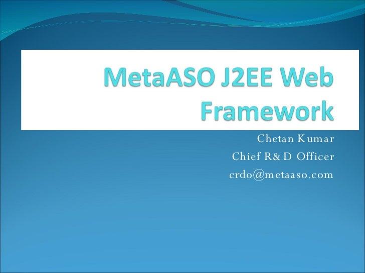 MetaASO J2EE Web Framework