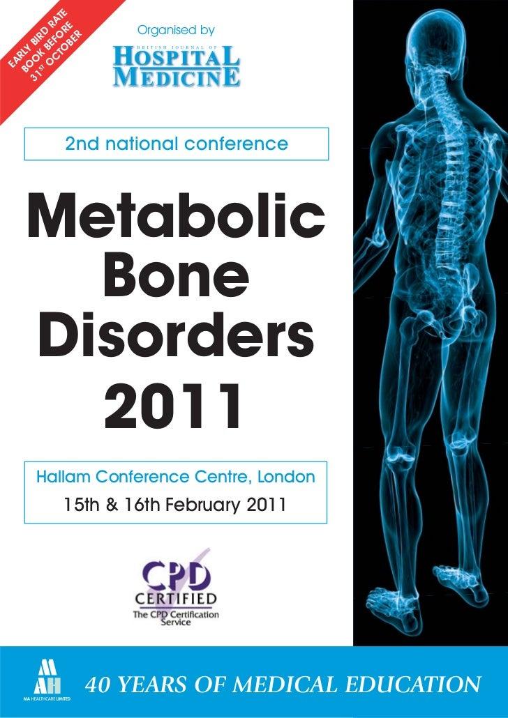 Metabolic Bone Disorders 2011