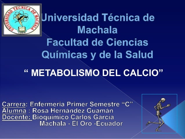 Metabolismo calciooo