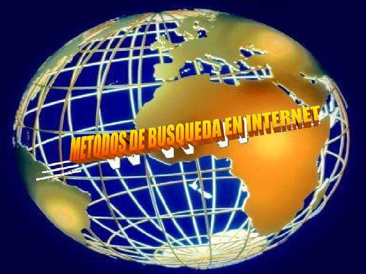 Hay tantos documentos en la red quepara una mayor búsqueda de lainformación, internet nos da algunasherramientas como lo s...