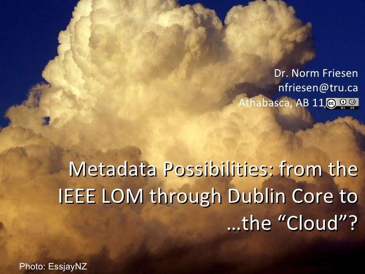 Metadata Cloud