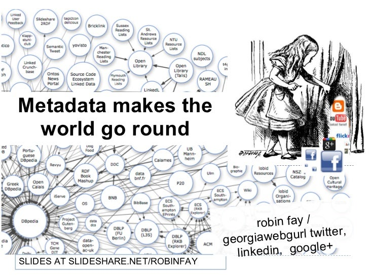Metadata makes the world go round 2