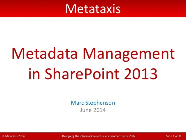 Best Metadata Management Tools