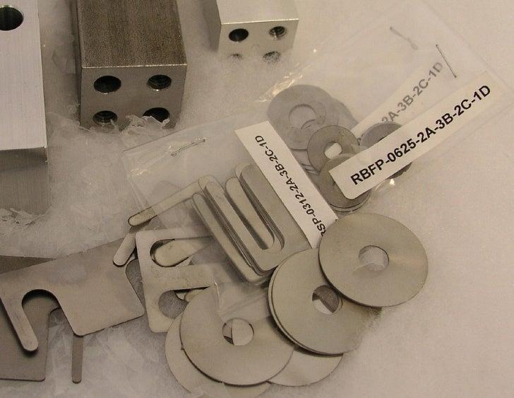 Metal Precision Shims N Blocks