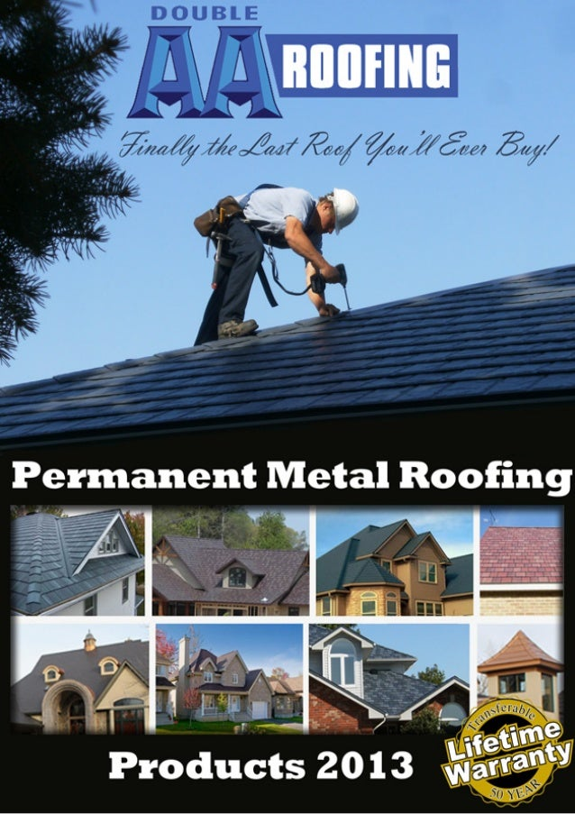 Double AA Roofing         Your Metal Roofing Specialists           in SouthWestern OntarioPermanent Metal Roofing Systems ...