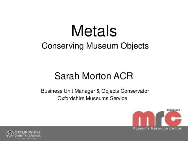 Metals training pdf